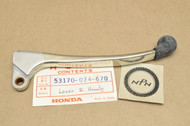 NOS Honda CA72 CB450 CL350 CL77 MT125 SL350 SL70 ST90 XL100 XR75 Right Handlebar Brake Lever 53170-074-670