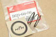 NOS Honda CR250 R CR500 R Kick Start Starter Ratchet Spring 28223-KA4-740