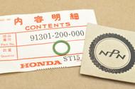 NOS Honda ATC250 CB350 CB750 CB900 CBX CL100 SL125 TL125 TRX125 XL250 XR250 XR75 O-Ring 91301-200-000