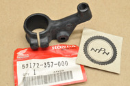 NOS Honda CR125 M CR250 M CR80 R MT125 R XR100 XR80 Left Handle Bar Lever Perch Holder 53172-357-000