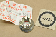 NOS Honda CB550 CB650 CB750 CB900 CBX CR250 GL1100 Axle Nut 18mm  90305-393-000