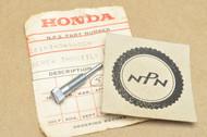 NOS Honda Z50 K0-K2 Carburetor Throttle Stop Screw 16163-049-004