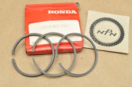 NOS Honda C100 C102 C110 Standard Size Piston Ring Set for 1 Piston= 3 Rings 13010-001-010