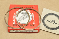 NOS Honda 1983-84 CR60 R 0.50 Oversize Piston Ring Set for 1 Piston = 2 Rings 130C1-GF5-671