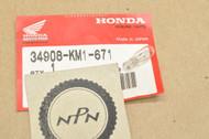 NOS Honda CB125 CB750 CH250 CMX450 GB500 NT650 VF700 VF750 VT1100 Wedge Base Bulb 12V 3W 34908-KM1-671