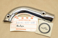 NOS Honda CT90 K1 Muffler Exhaust Pipe Heat Shield Protector A 18241-077-000