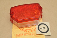 NOS Honda 1978-79 PA50 I 1978-80 PA50 II Moped Rear Tail Light Lens 33703-148-670