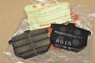 NOS Honda CB750 F CB900 F CBX GL1000 MT125 R Disc Brake Pad Set 45105-410-026