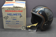 Vintage NOS 1980 Honda Hondaline GL1100 Goldwing Interstate Shoei S/S Stag Helmet XL