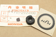 NOS Honda C70 CB350 CB450 CL350 CL450 SL125 SL350 SL70 ST90 XL125 Number Bracket Cushion Rubber 84705-292-000