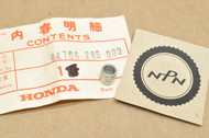 NOS Honda CB450 CB750 CL350 GL1000 GL1100 MT250 SL350 SL70 ST90 XL350 XL70 Bracket Setting Collar 84706-286-000