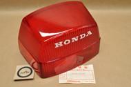 NOS Honda 1979 CB750 K 1978-79 CX500 1979-81 CX500D Red Rear Tail Light Lens Cover 33702-415-671