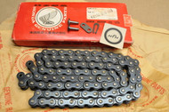 NOS Honda SL350 Drive Chain with Master Link DID 98L 40530-290-003