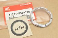 NOS Honda 1987-88 CR125 R CR250 R CR500 R Rear Wheel Bearing Retainer 41231-KS6-700