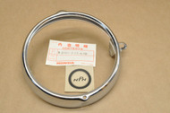 NOS Honda CB100 CB125 CL125 CT70 CT90 SL100 SL125 ST90 XL125 XL175 Headlight Bezel Ring Rim 33101-243-670