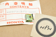 NOS Honda GL1100 GL1200 Gold Wing GL500 GL650 Silver Wing Instrument Panel Nut 66872-671-000