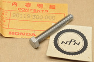 NOS Honda CB750 CR250 GB500 MR250 MT250 VF750 XL350 XR250 XR500 Chain Tension Adjusting Bolt 90119-300-000