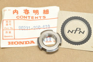 NOS Honda ATC200 CB350 CB450 CB750 CB92 CL350 GL1000 SL350 TL250 XL250 XR200 Lock Nut 90231-200-010