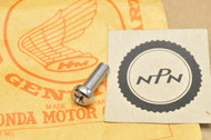 NOS Honda CL72 CL77 Points Cover Pan Screw 6x18 93500-06018-02