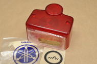 NOS Yamaha MG1 U5 YA6 YD3 YDS2 YDS3 YDT1 YG1 YGS1 YJ2 YL1 YM1 Rear Taillight Lens Cover 124-84521-60