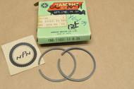 NOS Yamaha G6S G7S YG5 0.25 Oversize Piston Ring Set for 1 Piston = 2 Rings 180-11601-11