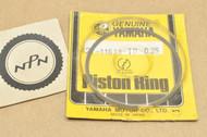 NOS Yamaha 1974-75 MX100 0.25 Oversize Piston Ring for 1 Piston = 1 Ring 427-11611-10