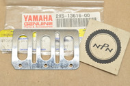 NOS Yamaha IT250 IT400 IT425 IT465 IT490 YZ250 YZ400 YZ465 YZ490 Reed Valve Stopper 2X5-13616-00