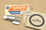 NOS Yamaha AT2 CT2 DT2 DT250 DT3 DT400 R5 RD350 RT2 TX650 TX750 XS1 XS2 XS650 Steering Lock & Key Set 341-23408-01