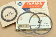 NOS Yamaha YG1 0.50 Oversize Piston Ring Set for 1 Piston = 2 Rings 122-11601-21