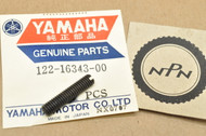 NOS Yamaha G6S G7S L5T MG1 YG1 YG5 YGS1 YJ2 Clutch Set Adjust Screw 122-16343-00