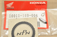 NOS Honda ATC250 R CR60 R CR80 R Carburetor Float Valve Set 16011-169-004