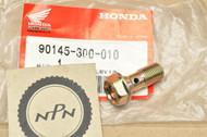 NOS Honda ATC250 CB450 CB750 CB900 CBX CX500 GL1000 GL1100 XL350 XR500 Banjo Bolt 90145-300-010