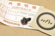 NOS Honda 1987-90 CBR600 F Hurricane Lower Cowling Bolt 90112-MN4-000