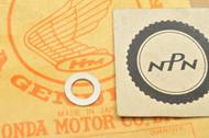 NOS Honda C100 CA100 C102 CA102 C110 CA110 Right Crank Case Drain Plug Gasket 90407-001-000