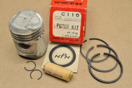 NOS Honda C110 CA110 0.75 Oversize Piston with Pin Rings & Clips Kit 13039-011-000