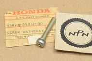 NOS Honda CB550 CB750 VF500 Interceptor Screw with Washer 93892-05032-00