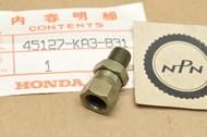 NOS Honda CR125 CR250 CR500 CR80 NX250 TRX250 TRX300 XL600 Front Brake Hose Joint 45127-KA3-831