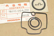 NOS Honda 1983-95 CR80 R Carburetor Gasket Kit Set 16010-GC4-701