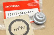 NOS Honda ATC125 CB650 GL650 TRX250 VF500 VT1100 XL125 XL80 XR250 XR80 Fuel Strainer Cup 16967-GA6-671