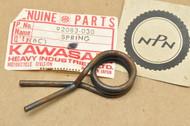 NOS Kawasaki A1 C2 F3 G3 H1 H2 KE100 KH500 KT250 KX500 KX80 MC1 S1 S2 S3 Change Pedal Return Spring 92083-030