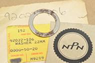 NOS Kawasaki F3 F4 F6 F7 H2 Mach IV KD175 KE175 KV75 MT1 Washer 22mm 92022-106