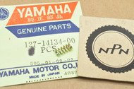 NOS Yamaha DT1 DT250 IT400 MX250 RD400 TX750 TZ750 XS1 YZ250 YZ465 Air Adjust Screw Spring 127-14134-00