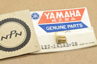 NOS Yamaha 1962-64 MJ2 1966-67 U5 Carburetor Main Jet #140 127-14143-28