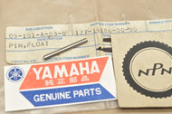 NOS Yamaha DT1 DT250 IT250 MX250 MX400 RT1 TZ350 XS1 XS750 YZ250 YZ80 Carburetor Float Pin 127-14186-00