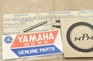 NOS Yamaha DT1 DT250 IT250 MX250 MX400 RT1 TZ350 XS1 XS750 YZ250 YZ80 Carburetor Float Pin 127-14186-00