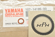 NOS Yamaha AT1 CS3 DT1 DT100 DT125 MG1 MX100 R3 RD60 TY175 U5 YDS2 YG1 Needle Valve Washer 127-14195-00