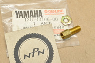 NOS Yamaha AT1 CT1 DT1 QT50 R3 RD60 RT1 TA125 TD2 TR3 TY175 TZ250 YR1 YT125 YZ80 Cable Screw Set 12G-14106-00