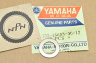 NOS Yamaha AT1 AT2 CT1 CT2 DT100 DT175 HT1 JT1 JT1 LT2 MX100 MX175 RD200 RS100 Thrust Washer 132-15653-00-12
