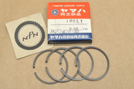 NOS Yamaha 1966-67 YL1 0.50 Oversize Piston Ring Set for 2 Pistons = 4 Rings 134-11610-20