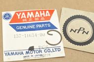 NOS Yamaha 1964 1966 TD1 1965-66 YDS3 YM1 Piston Pin Circlip 137-11634-00